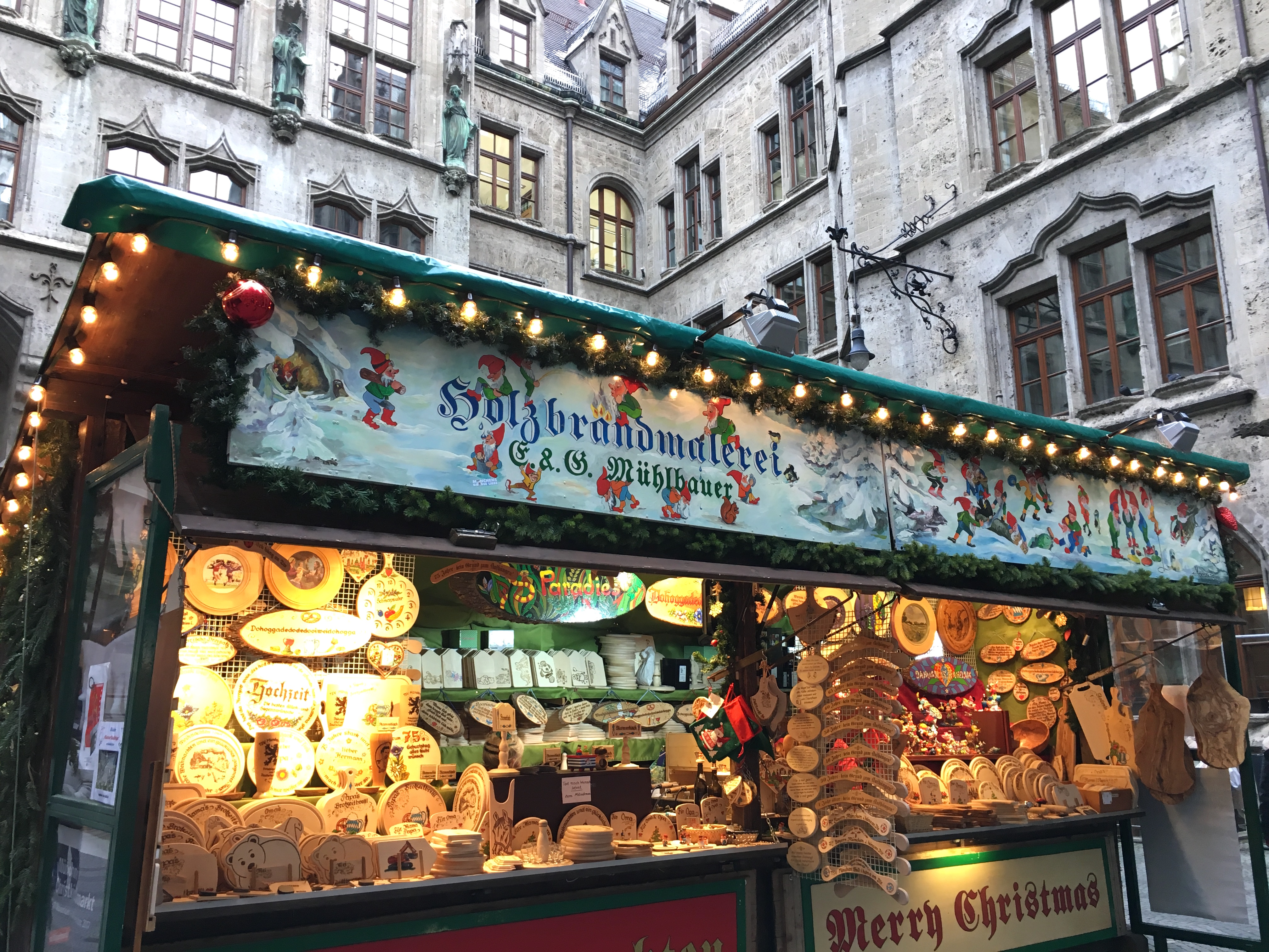 thirty years ago beth would have been thrilled to be at a german christmas market shopping for hand blown